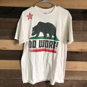 BIG Black Do work Rob Dydrek Shirt Men's Large